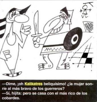 Image result for kalikatres sapientísimo