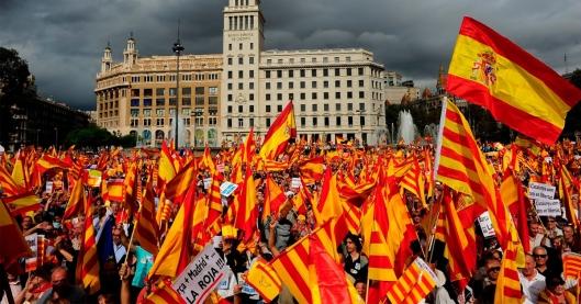 Image result for manifestación barcelona 8 octubre