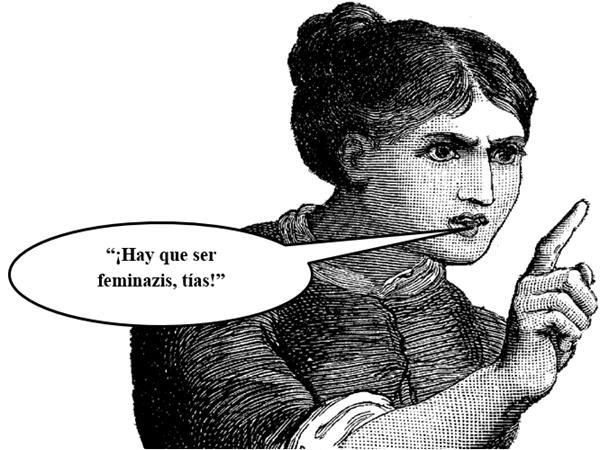 Patria y Unidad: A los inmortales de la RAE. Feminazi.